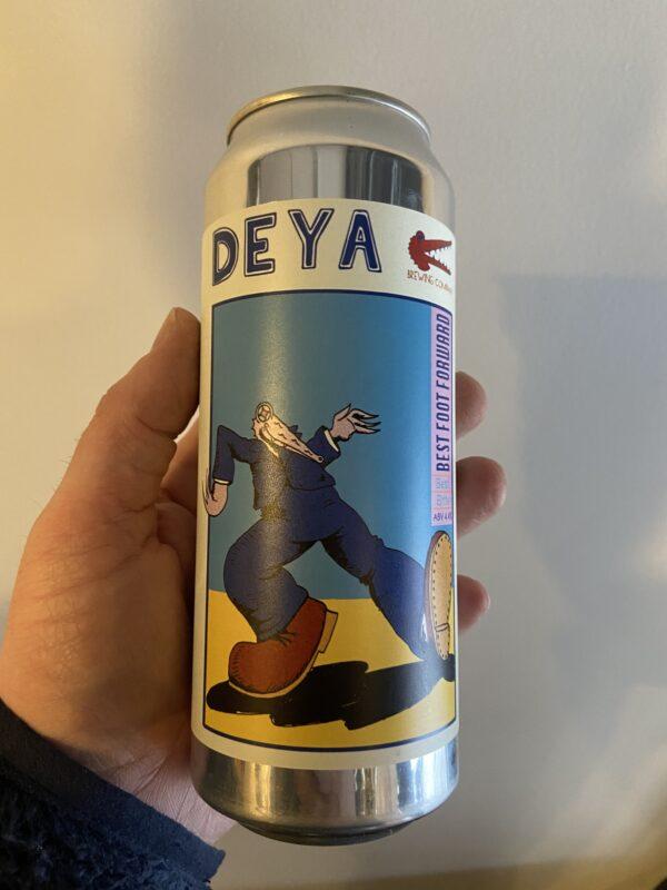 Best Foot FOrward Bitter by Deya Brewing Company.