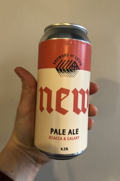 Pale Ale Azacca and Galaxy by Newbarns Brewery.