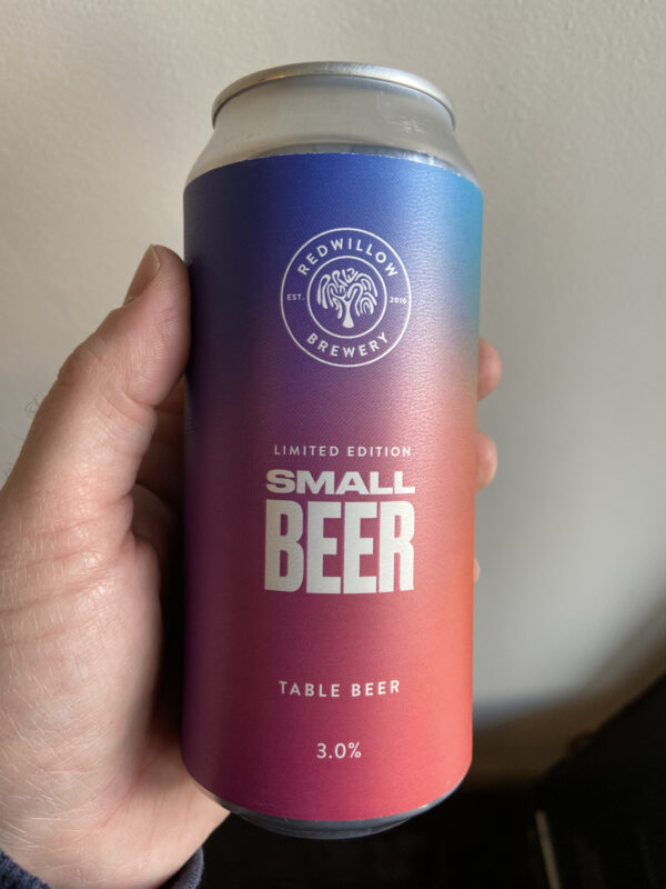 Small Beer by Redwillow Brewery.