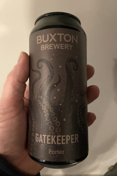 Gatekeeper Porter by Buxton Brewery.