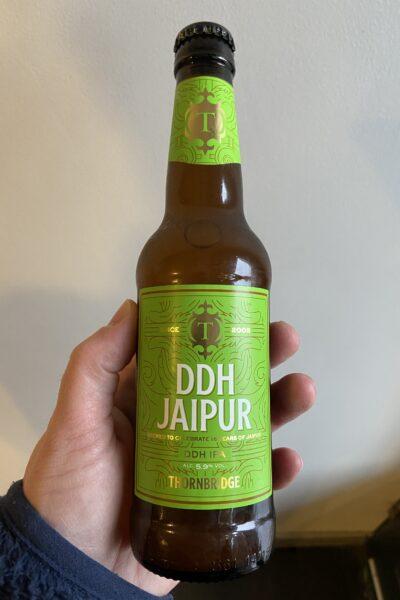 DDH Jaipur IPA 330ml by Thornbridge Brewery.