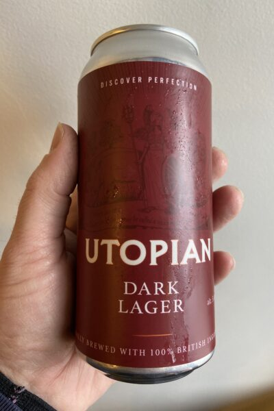 Dark Lager by Utopian Brewing.