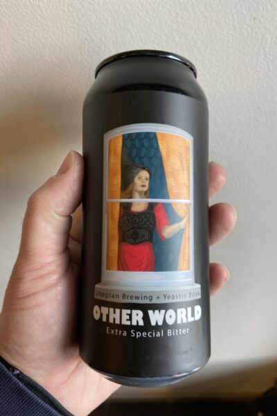 Other World ESB by Utopian Brewing and Yeastie Boys.