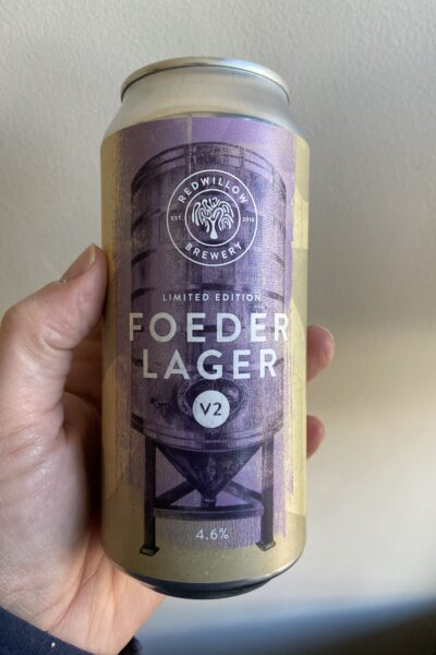 Foeder Lager V2 by RedWillow Brewery.