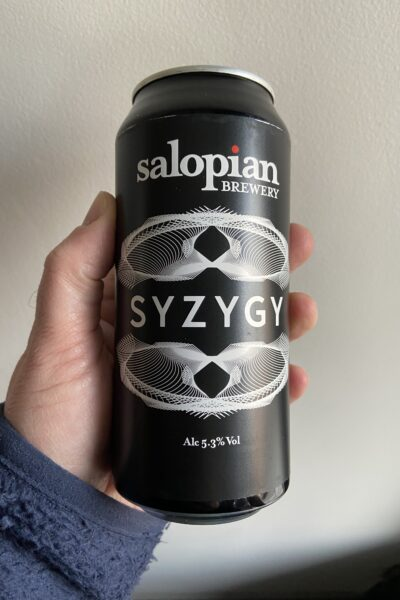 Syzygy Pale Ale by Salopian Brewery.