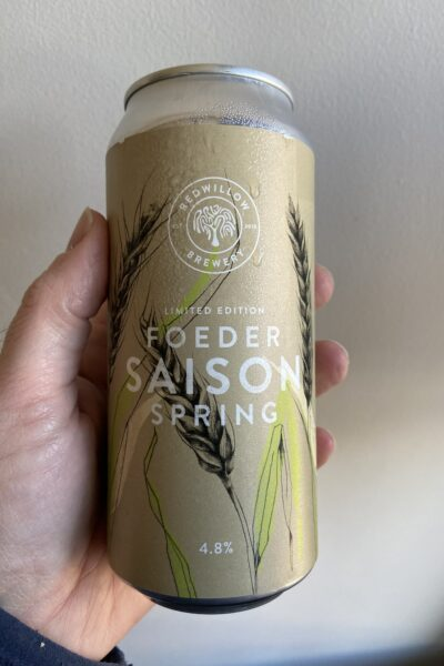 Foeder Spring Saison 2021 by RedWillow Brewery.