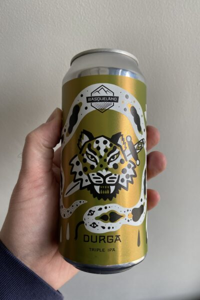Durga Triple IPA by Basqueland Brewing.