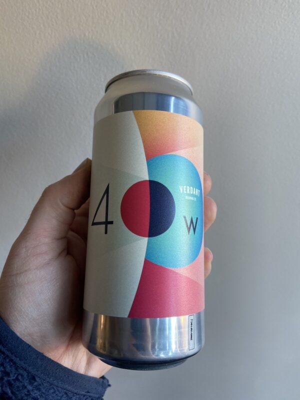 40 Watt Moon Imperial IPA by Verdant Brewing Co.