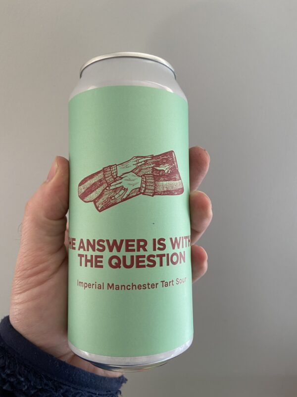 The Answer is Within The Question Imperial Sour by Pomona Island Brew Co.