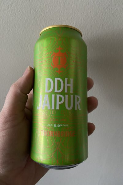 DDH Jaipur IPA by Thornbridge Brewery.