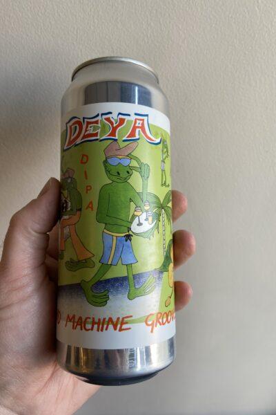 Sound Machine Groove Imperial IPA by Deya Brewing Company.