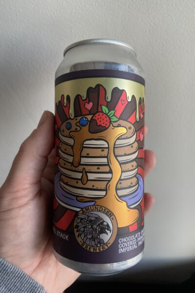 Tall Stack Imperial Pastry Stout by Amundsen Brewery.