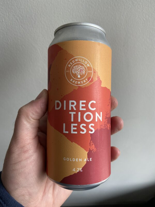 Directionless Pale Ale by RedWillow Brewery.