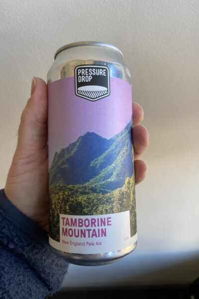 Tamborine Mountain New England Pale by Pressure Drop Brewing.
