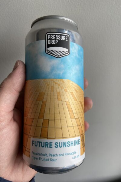 Future Sunshine Sour by Pressure Drop Brewing.