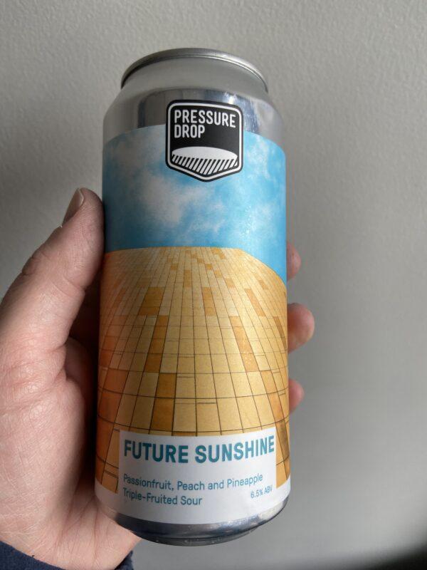Future Sunshine Sour by Pressure Drop Brewing.