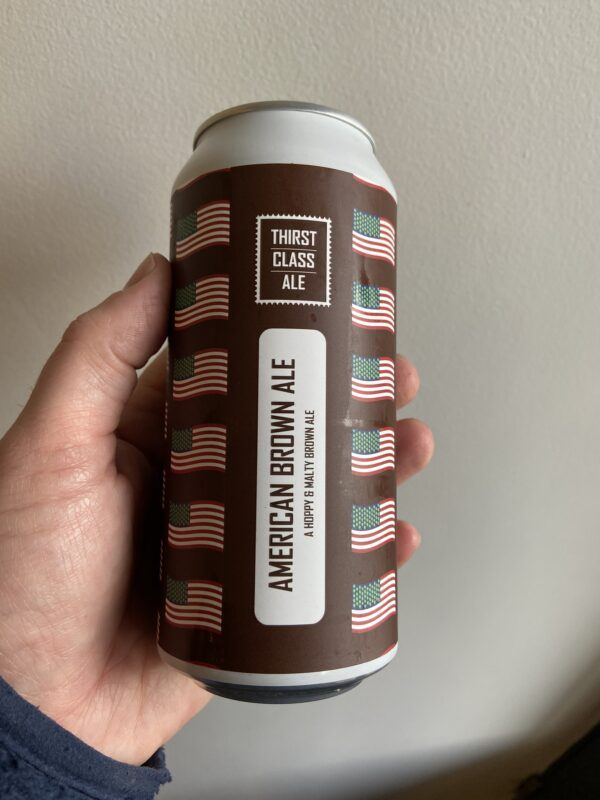 American Brown Ale by Thirst Class Ale.