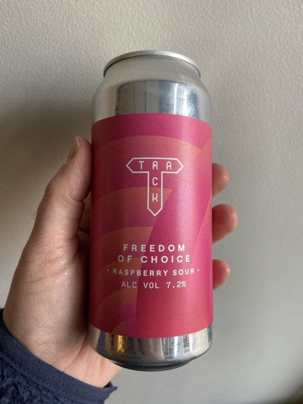 Freedom of Choice Raspberry Sour by Track Brewing Co.