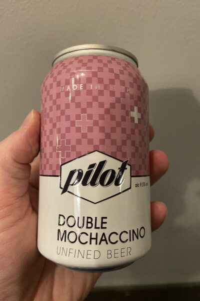 Double Mochaccino Imperial Milk Stout by Pilot.