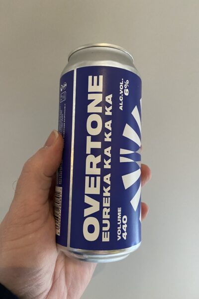 Eureka Ka Ka Ka American Pale Ale by Overtone Brewing.