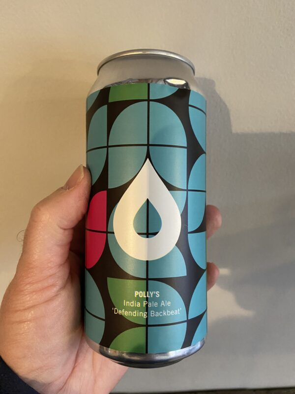 Defending Backbeat IPA by Polly's Brew Co.