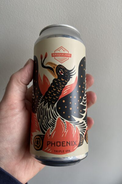 Phoenix Triple IPA by Basqueland Brewing.