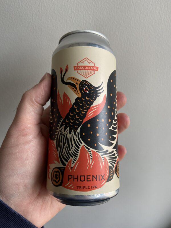Phoenix Triple IPA by Basqueland Brewing.