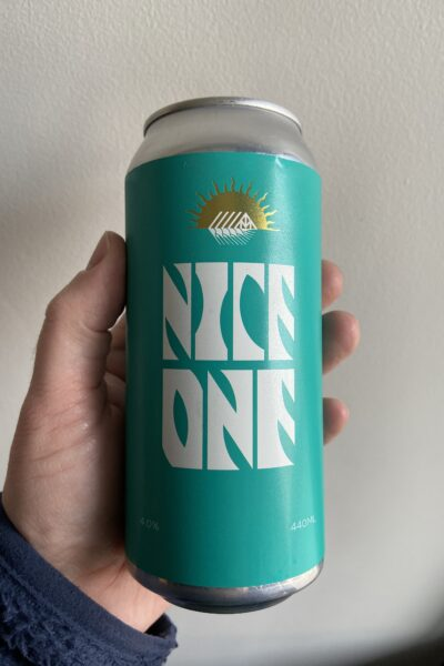 Nice One Pilsner by Newbarns Brewery.