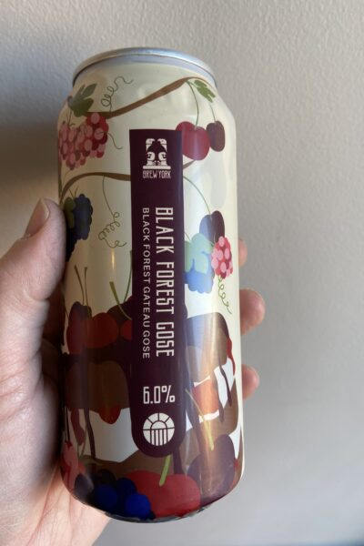 Black Forest Gateau Gose by Brew York.