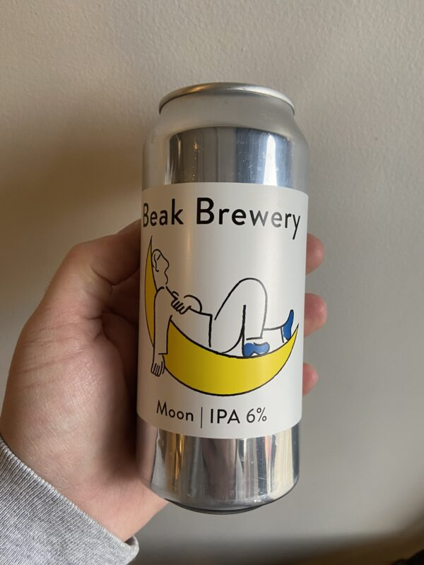 Moon IPA by The Beak Brewery.