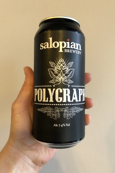 Polygraph Imperial Stout by Salopian Brewery.