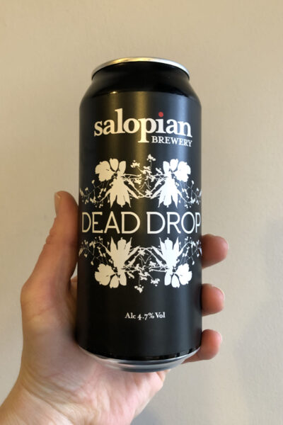 Dead Drop Pale Ale by Salopian Brewery.