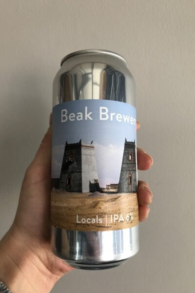 Locals IPA by Beak Brewery.