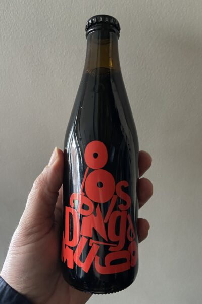Omnipollo Anagram Blueberry Cheesecake Imperial Stout.