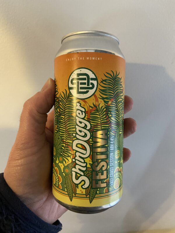 Festiva Session IPA by Shindigger Brewing Co.
