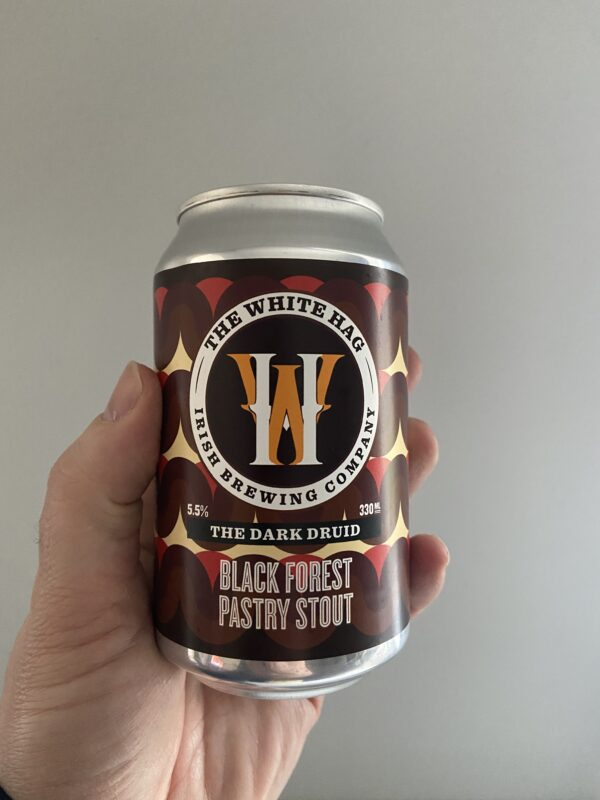 The Dark Druid Black Forest by The White Hag Brewery.
