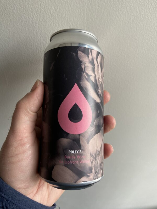 An UpFront Wither Barleywine by Polly's Brew Co.
