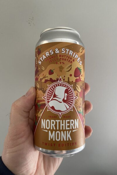 Stars and Stripes Peanut Butter and Jelly Porter by Northern Monk.