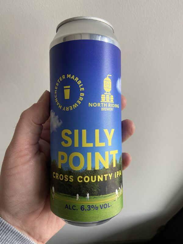 Silly Point IPA by Marble Beers.