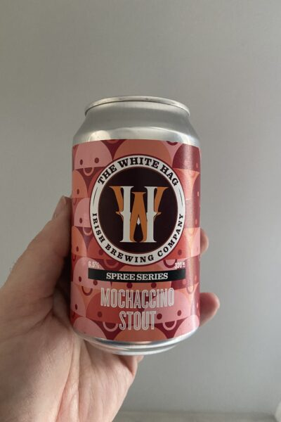Mochaccino Milk Stout by The White Hag Brewery.
