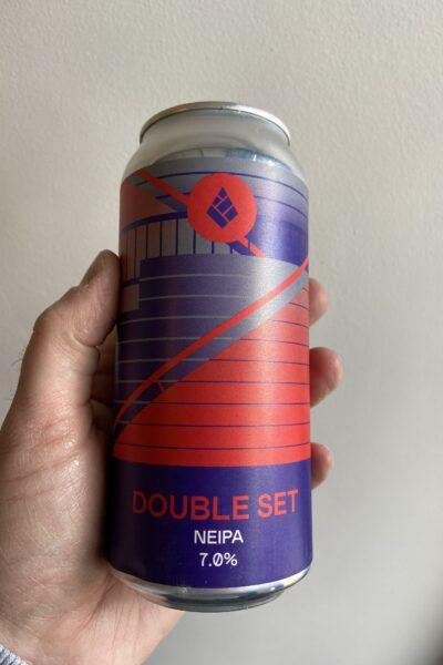 Double Set NE IPA by Drop Project.