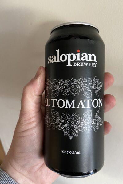Automaton American IPA by Salopian Brewery.
