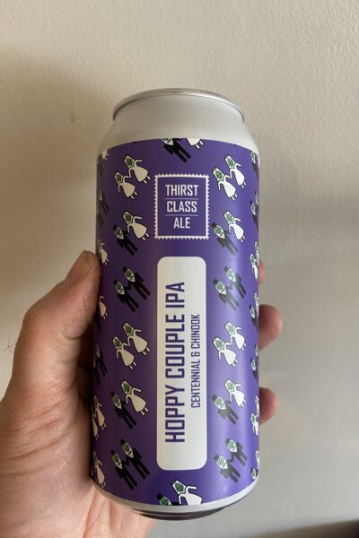 Hoppy Couple IPA by Thirst Class Ale.