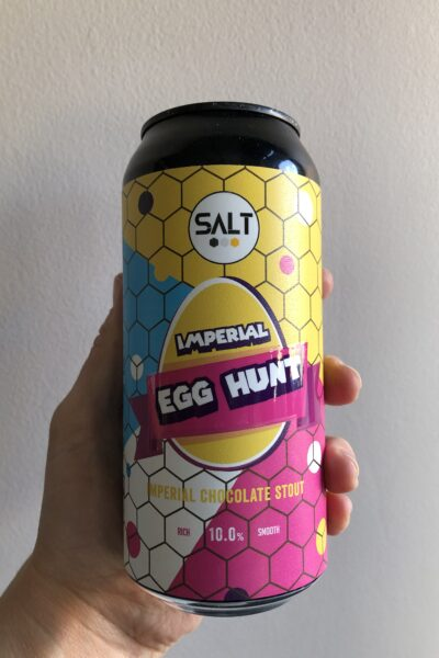 Imperial Egg Hunt Imperial Stout by SALT.