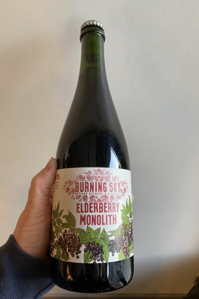 Elderberry Monolith Sour by Burning Sky.
