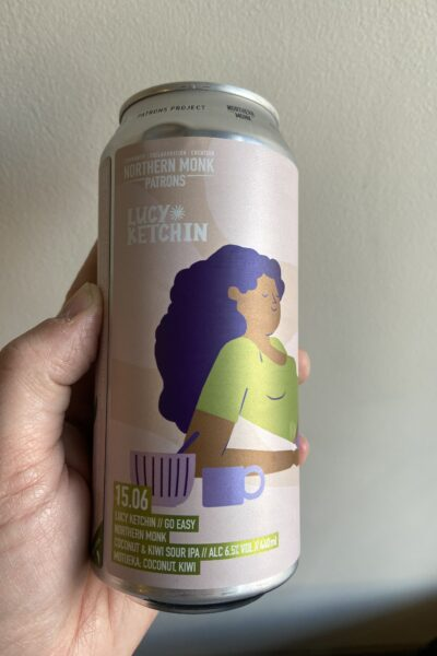 15.06 LUCY KETCHIN // GO EASY // COCONUT & KIWI SOUR IPA by Northern Monk.