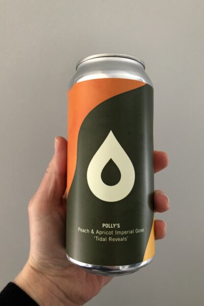 Tidal Reveals Peach and Apricot Imperial Gose by Polly's Brew Co.