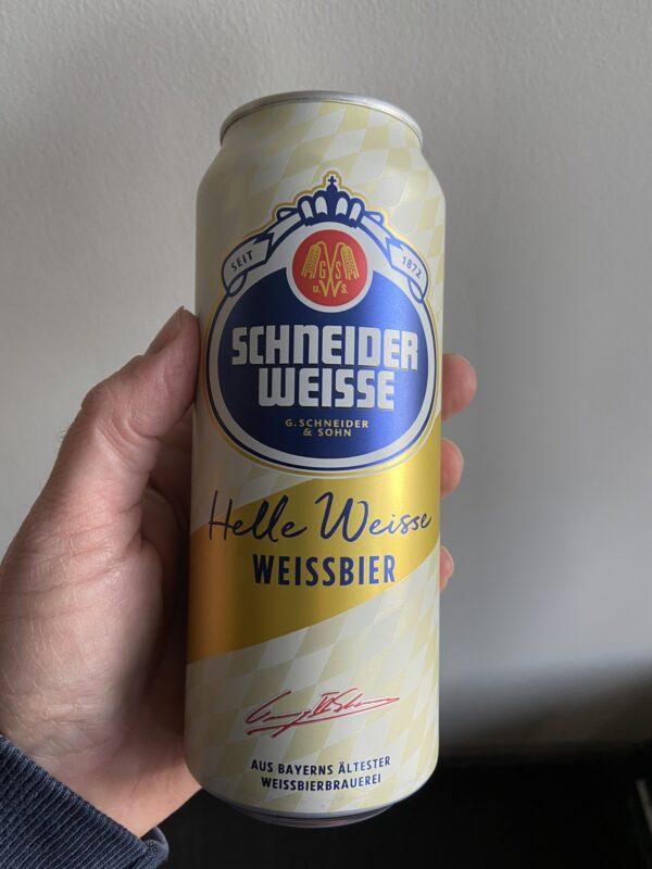Helle Weisse (Tap 1) by Schneider Weisse.