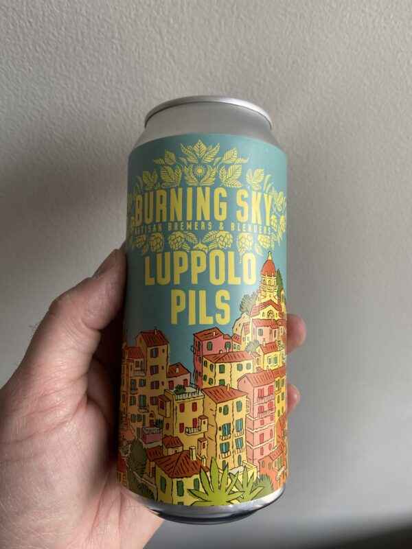 Luppolo Pils by Burning Sky.
