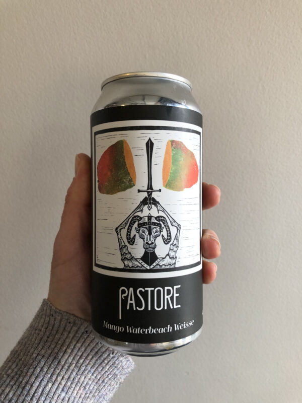 Mango Waterbeach Weisse by Pastore Brewing and Blending.